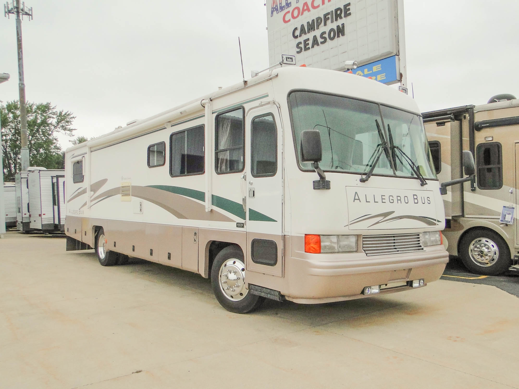 Tiffin Motorhomes Allegro Bus  U2223 Rv Wholesale Superstore