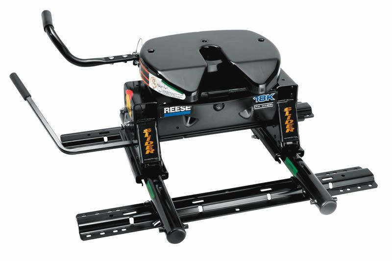 fifth wheel slider hitch