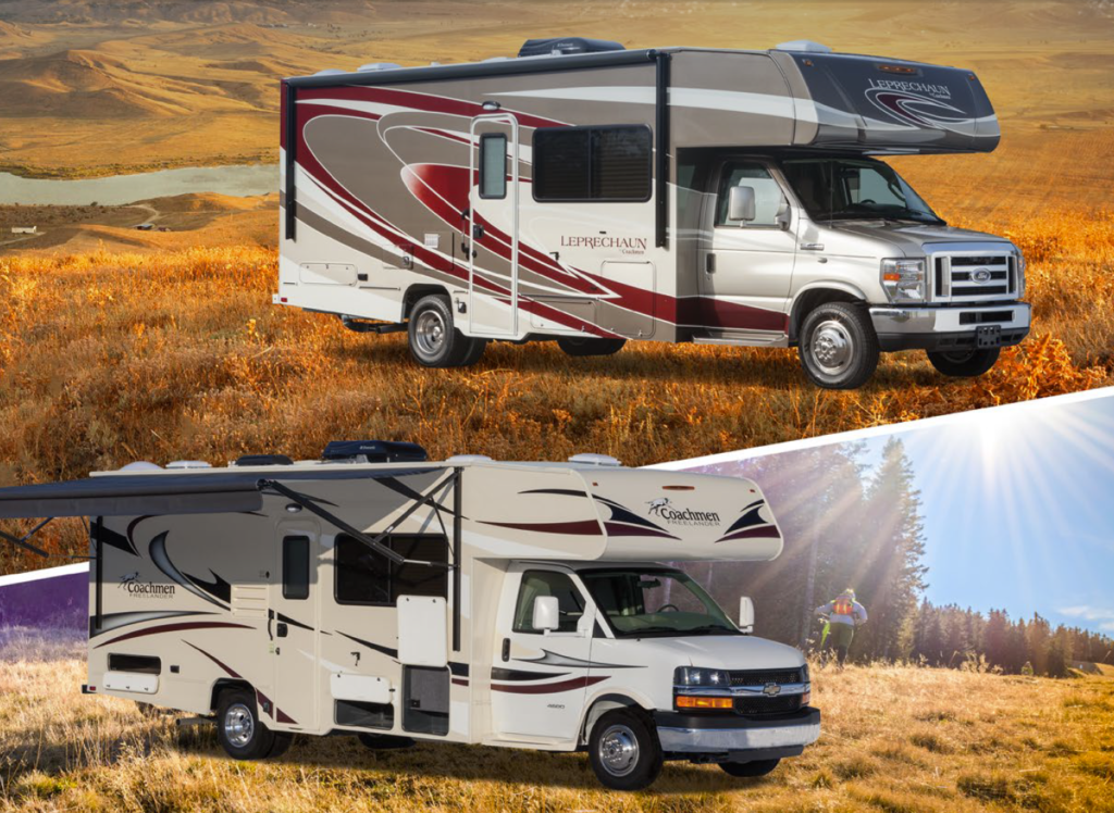Coachmen Leprechaun vs Coachmen Freelander