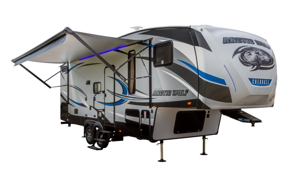 Cherokee Arctic Wolf Fifth Wheel