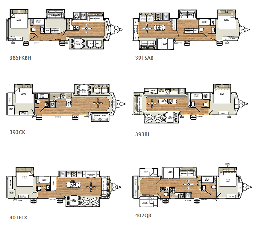 sierra destination trailer floorplans