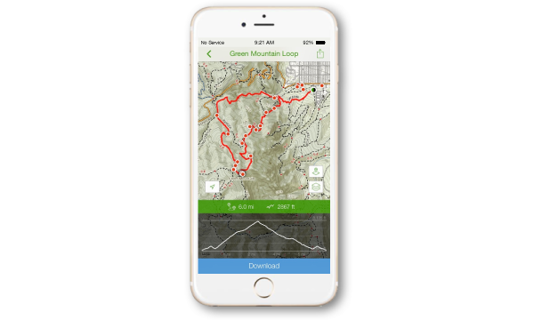 AllTrails is one of the best rv apps ever