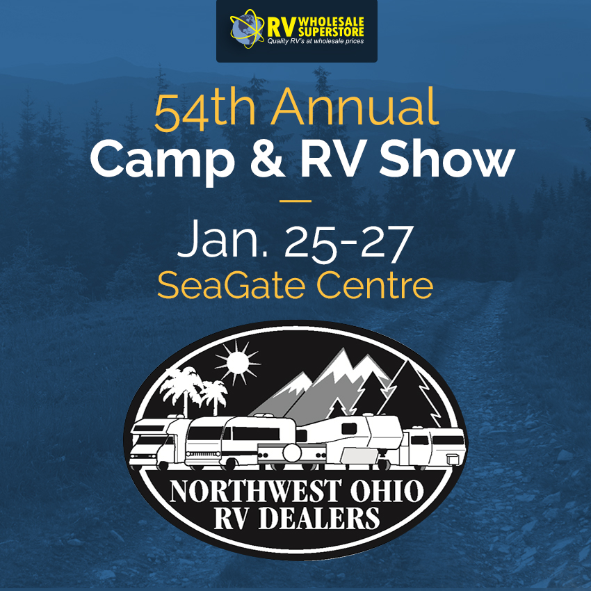 54th Annual Camp & RV Show - January 25 - 27