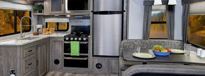 Check Out the Latest Updates in the 2019 Forest River Vibe RV!