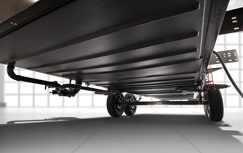 The Accessibelly RV Underbelly on new Wildwood RVs